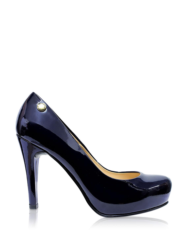 Calzado Reina Plataforma FR-6561 Color Azul