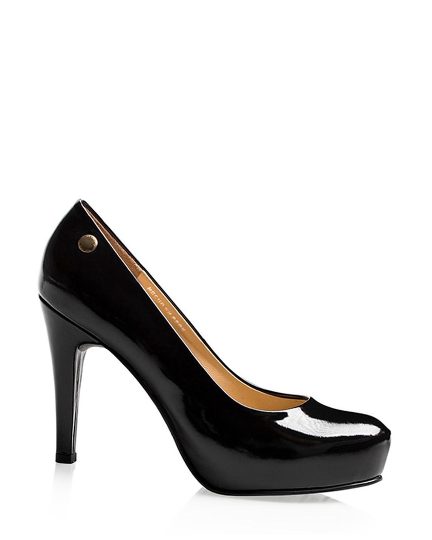 Calzado Reina Plataforma FR-6561 Color Fulonado Negro