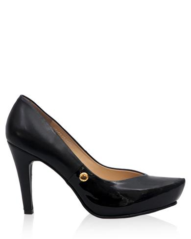 Calzado Reina Plataforma FR-7702 Color Negro