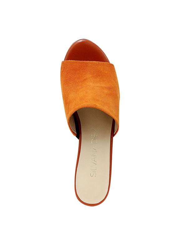 Calzado Sandalia FS-8626 Color Naranja