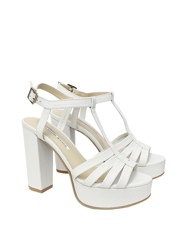 Calzado Sandalia FS-8698 Color Blanco