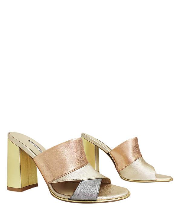 Calzado Sandalia FS-8750 Color Oro