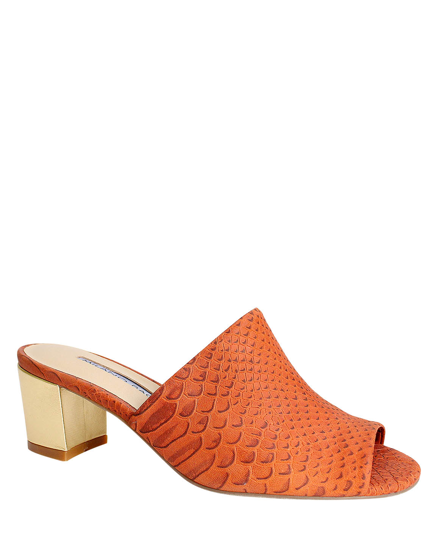 Calzado Sandalia FS-9050 Color Naranja