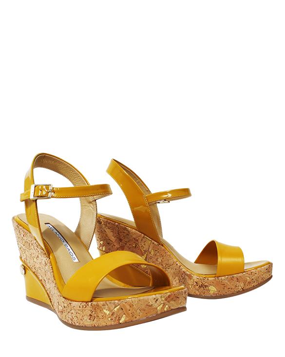 Calzado Sandalia FS-9084 Color Amarillo