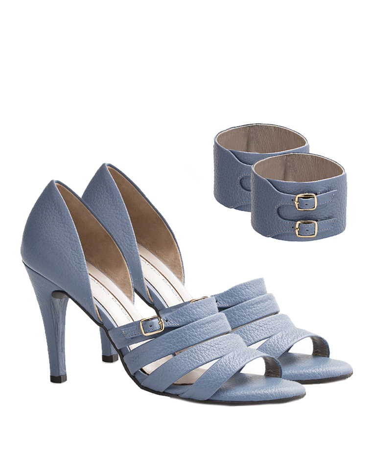 Calzado Sandalia FST-7726 Color Celeste