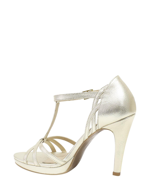 Calzado Sandalia FST-8963 Color Oro