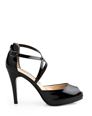 Calzado Sandalia Plataforma FST-7871 Color Negro