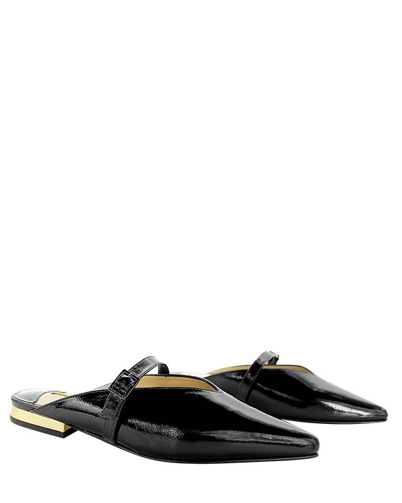 Calzado Sueco FZ-8921 Color Negro