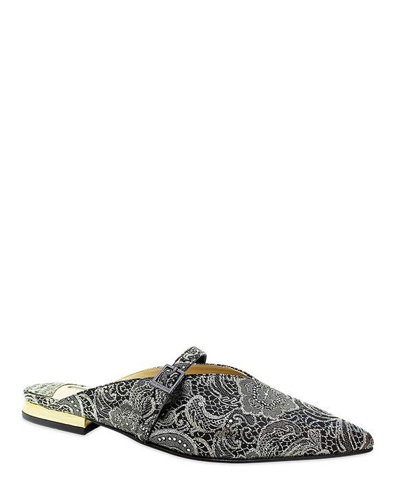 Calzado Sueco FZ-8921 Color Negro Oro