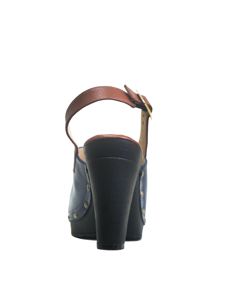 Calzado Zueco FZ-7608 Color Azul