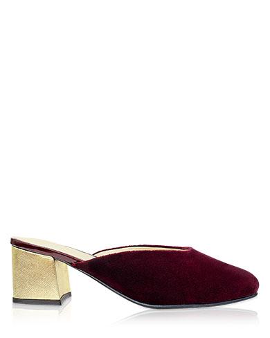 Calzado Zueco FZ-8571 Color Rojo