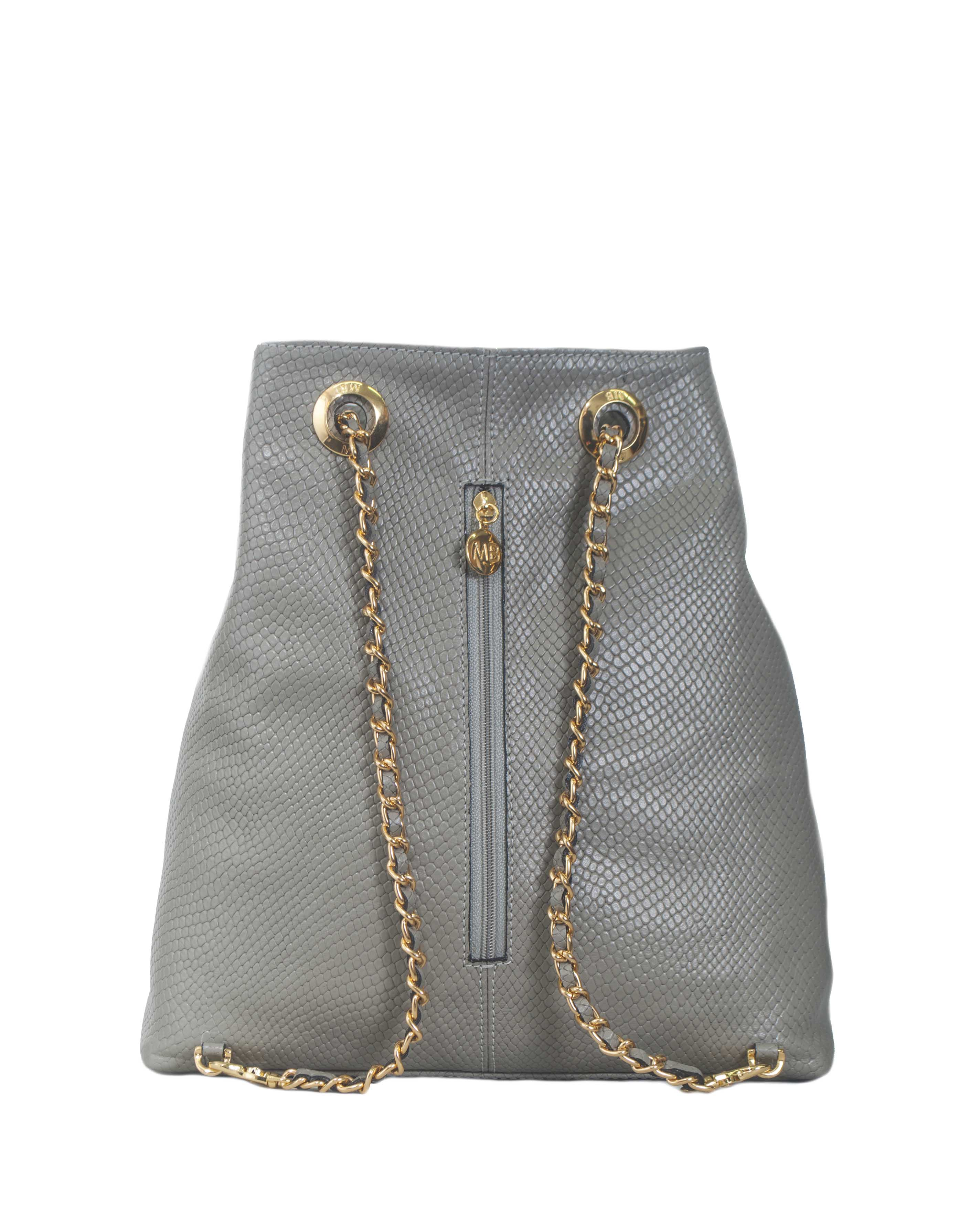 Cartera Backpack DS-2454 Color Gris