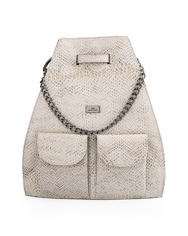 Cartera Backpack DS-2485 Color Blanco