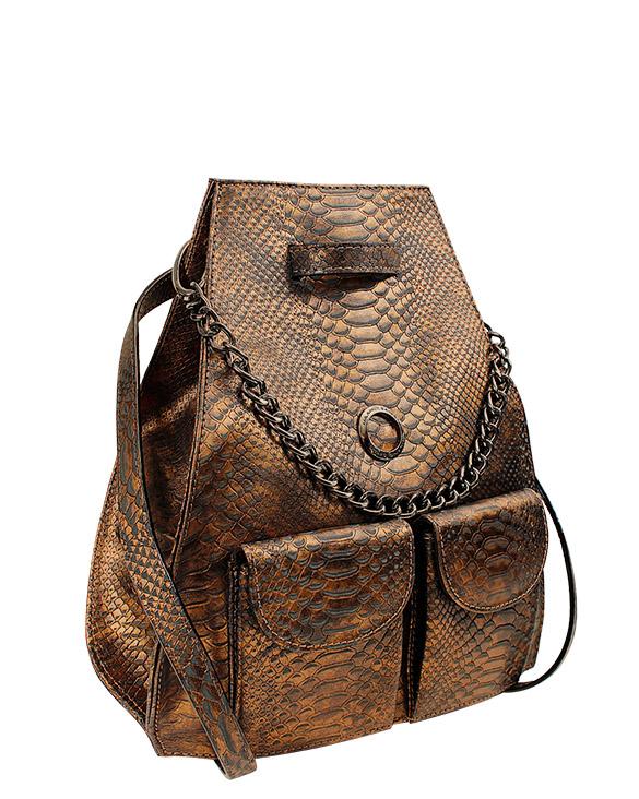 Cartera Backpack DS-2485 Color Cobre