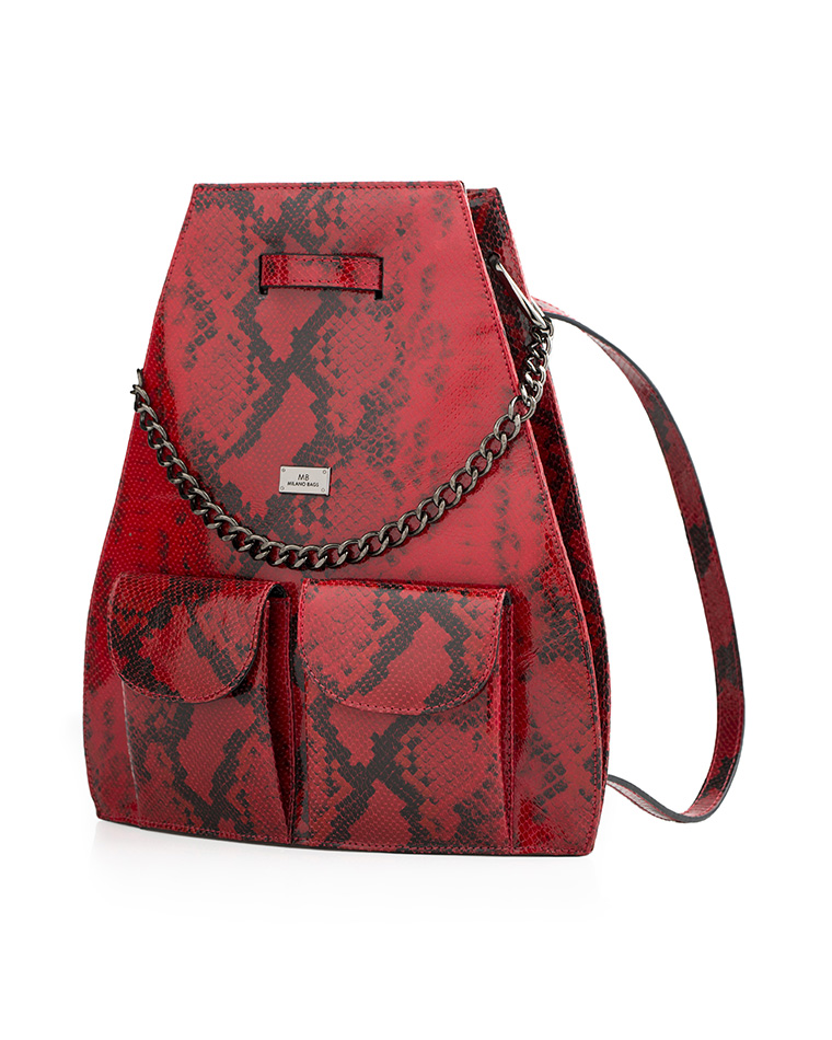 Cartera Backpack DS-2485 Color Rojo