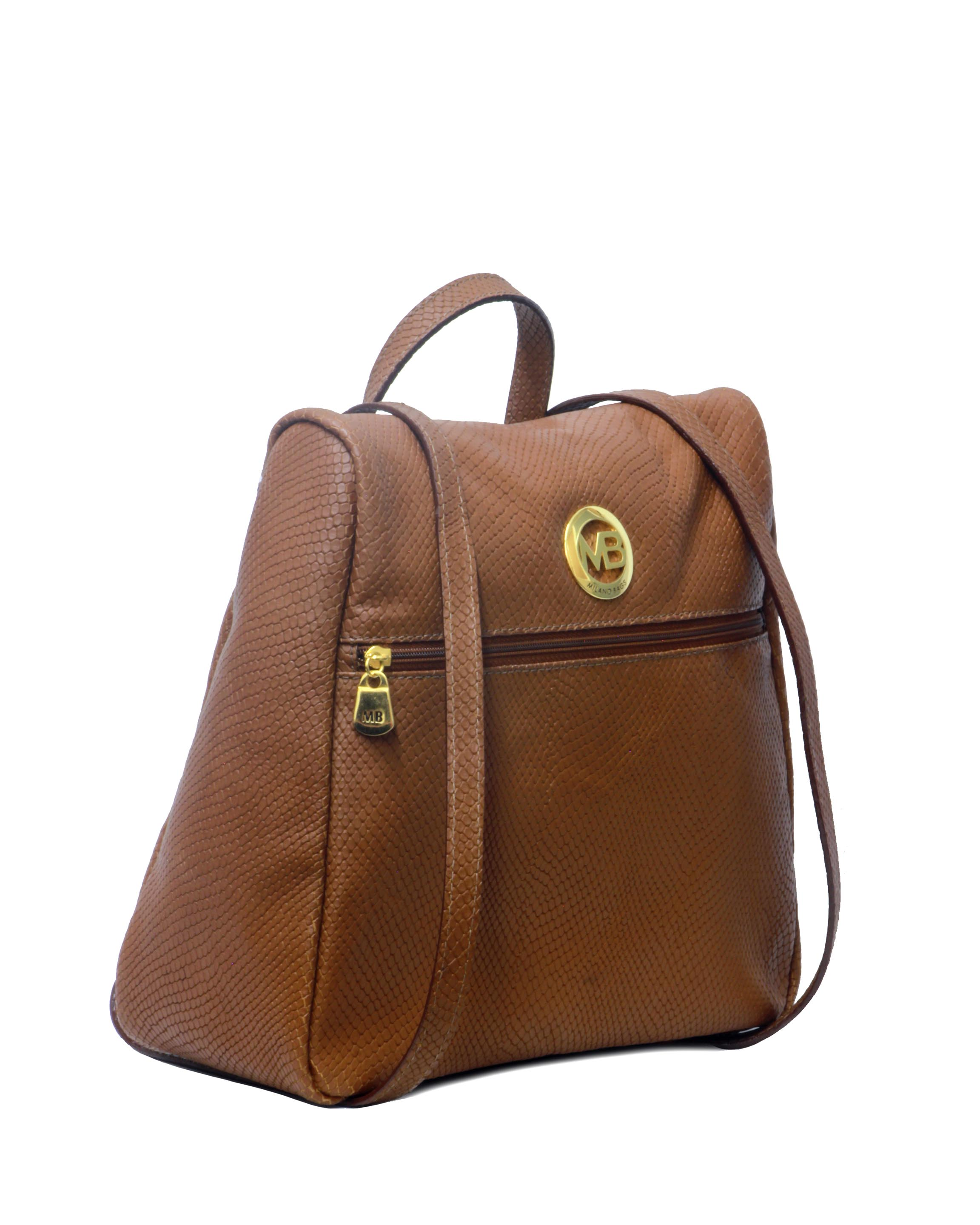 Cartera Backpack DS-2524 Color Natural