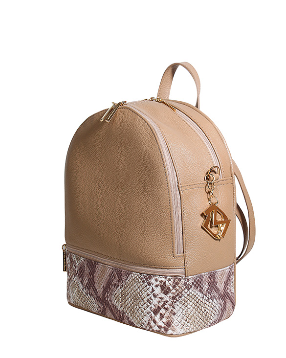 Cartera Backpack DS-2655 Color Visón