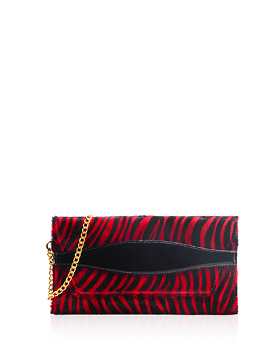 Cartera Cluch & Evening Bag DS-1252 Color Animal Print Negro