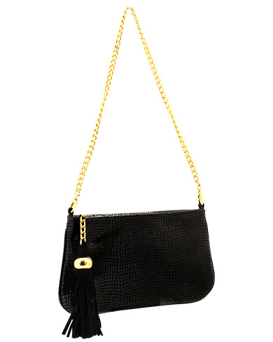 Cartera Clutch & Evening Bag DS-2283 Color Negro