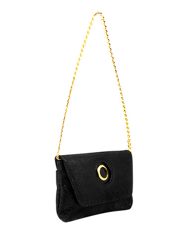 Cartera Clutch & Evening Bag DS-2456 Color Negro