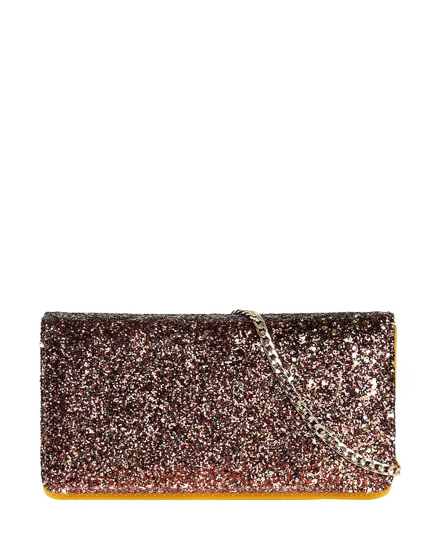 Cartera Clutch & Evening Bag DS-3122 Color Amarillo