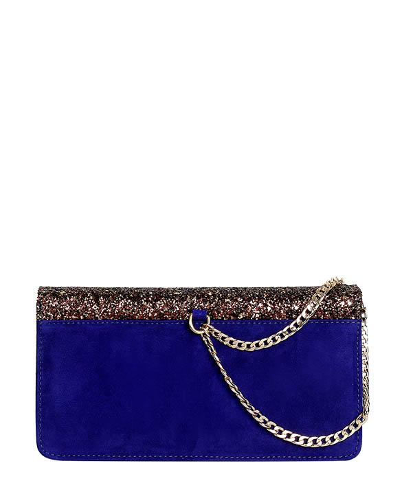 Cartera Clutch & Evening Bag DS-3122 Color Azul