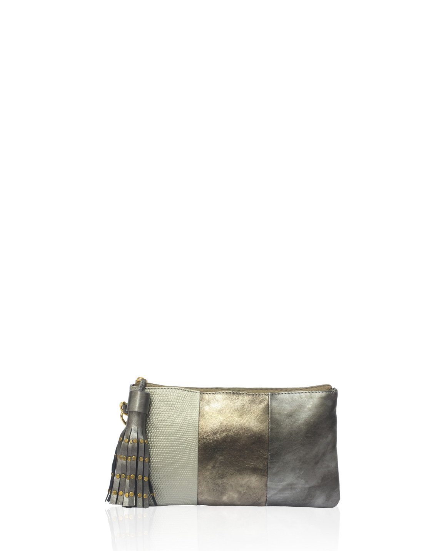 Cartera Clutch & Evening Bags  DS-2605 Color Plata