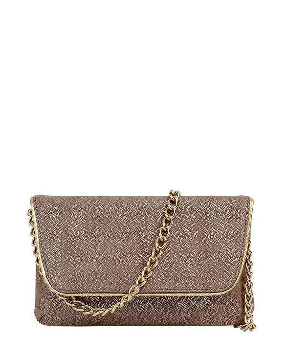 Cartera Clutch & Evening Bags DS-2744 Color Plata