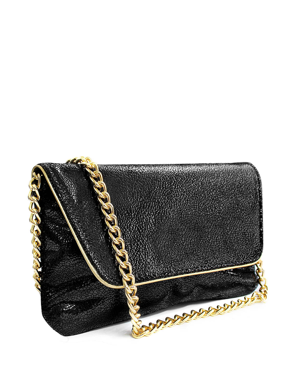 Cartera Clutches & Evening Bags DS-2920 Color Negro