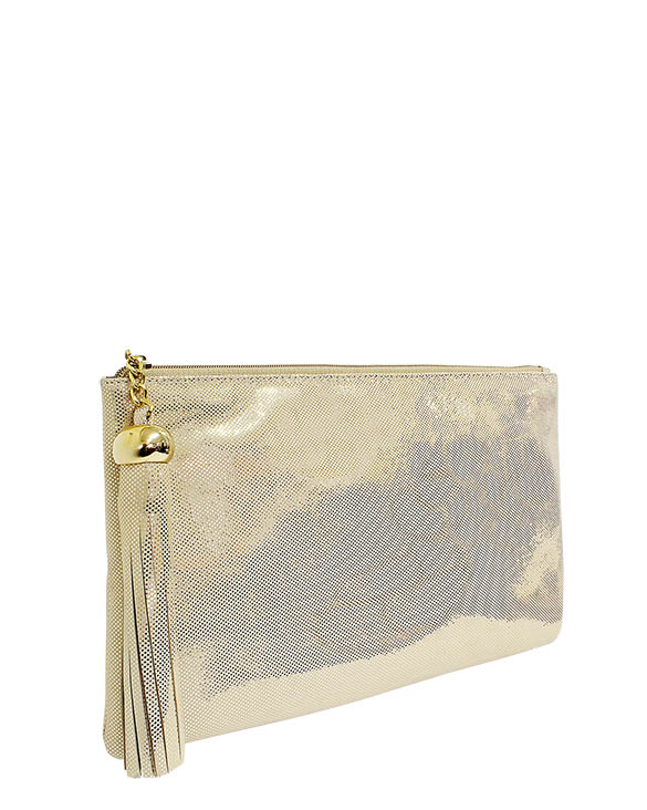 Cartera Clutchs & Evening Bags DS-2864 Color Oro