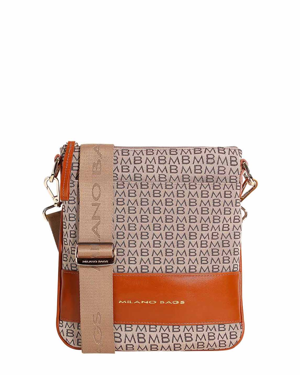 Cartera Crossbody DS-1872 Color Natural