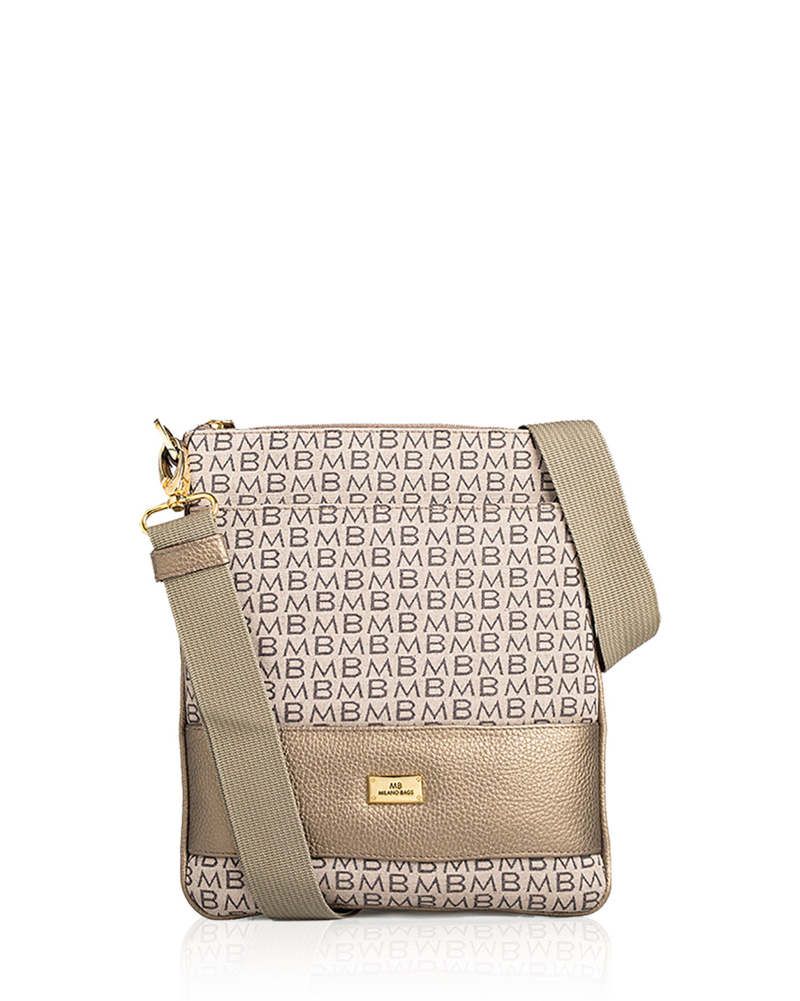 Cartera Crossbody DS-1872 Color Piuter