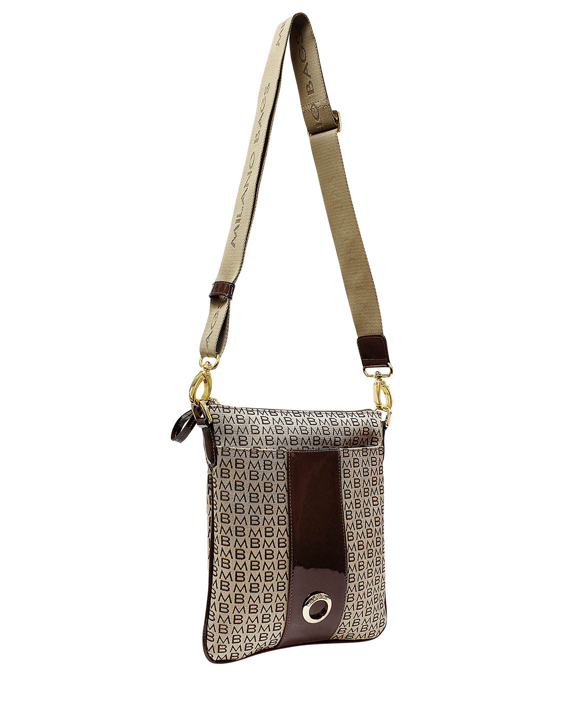 Cartera Crossbody DS-2276 Color Marrón