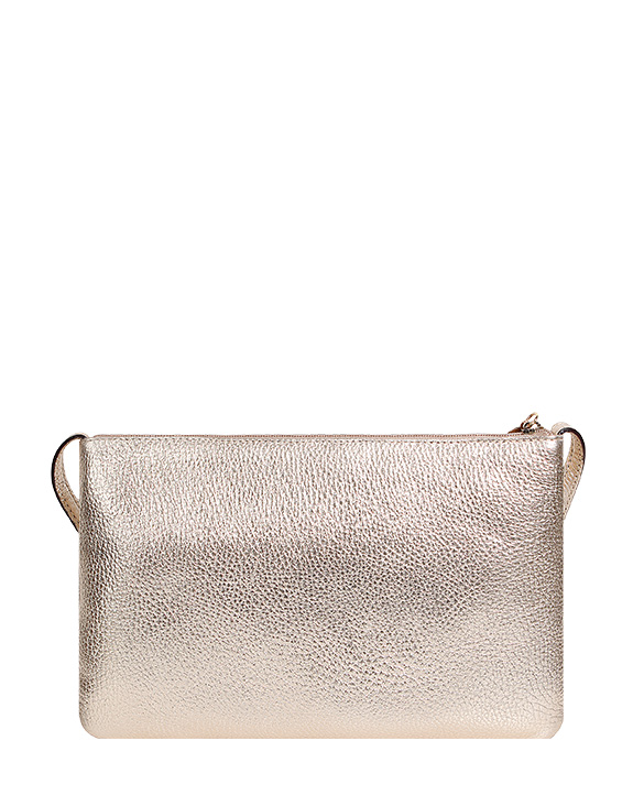 Cartera Crossbody DS-2572 Color Oro