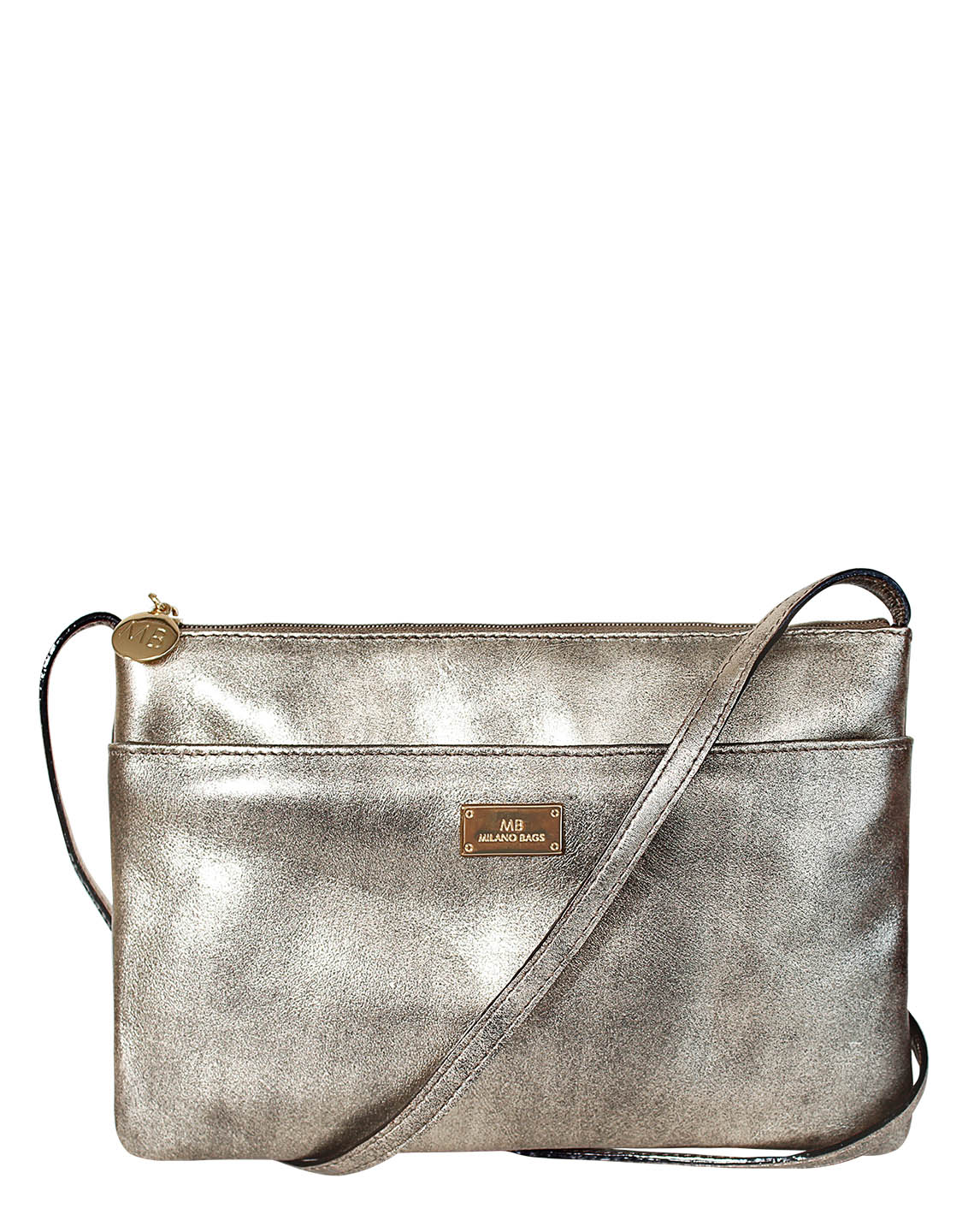 Cartera Crossbody DS-2572 Color Piuter