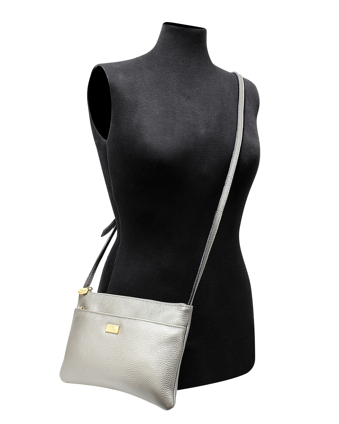 Cartera Crossbody DS-2572 Plata