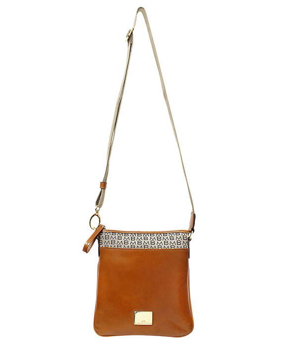 Cartera Crossbody DS-2629LB Color Natural