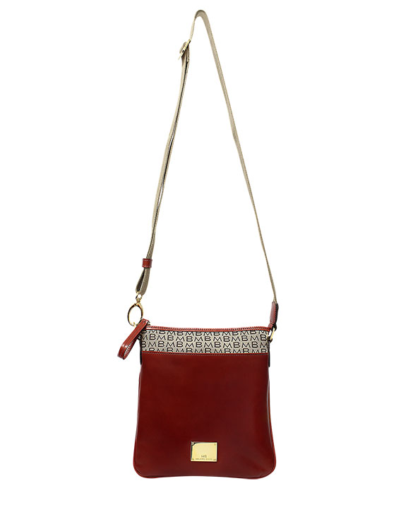 Cartera Crossbody DS-2629LB Color Rojo