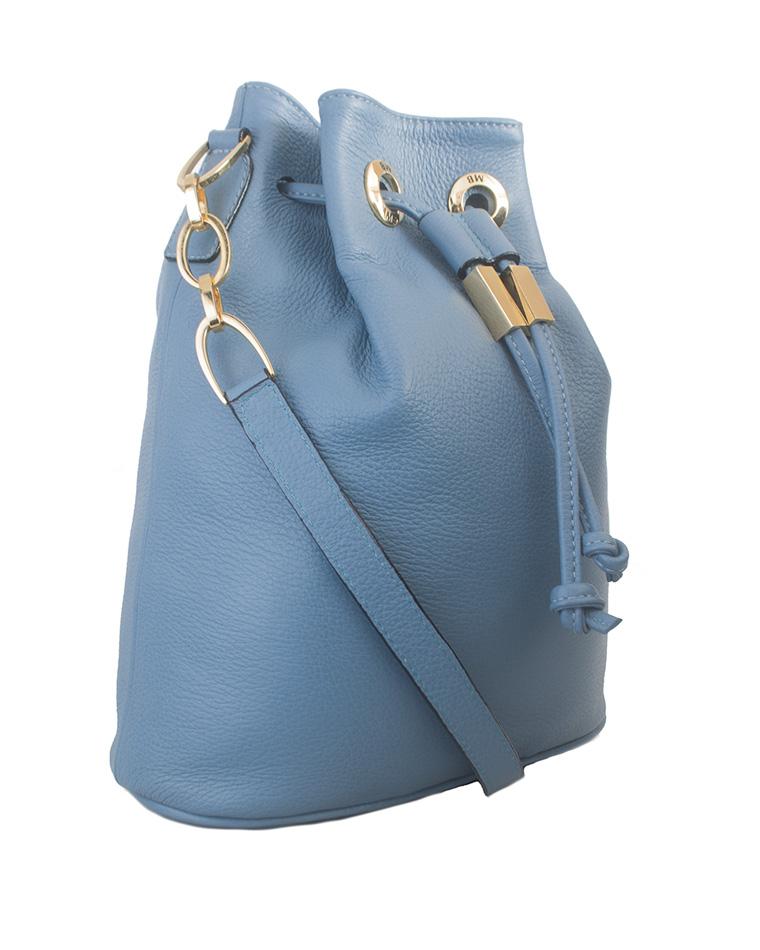 Cartera Hobo Bag DS-2489 Color Celeste