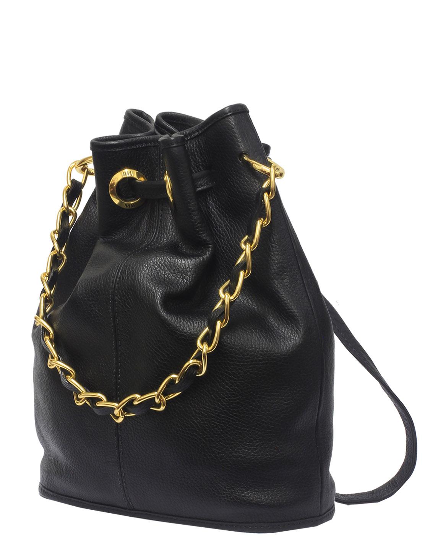 Cartera Hobo Bag DS-2529 Color Negro