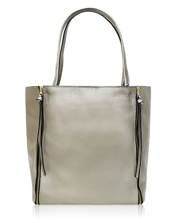 Cartera Hobo Bag DS-2580 Color Plata