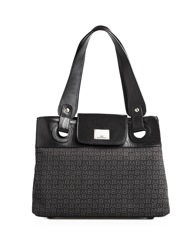 Cartera Satchel DS-1934 Color Negro