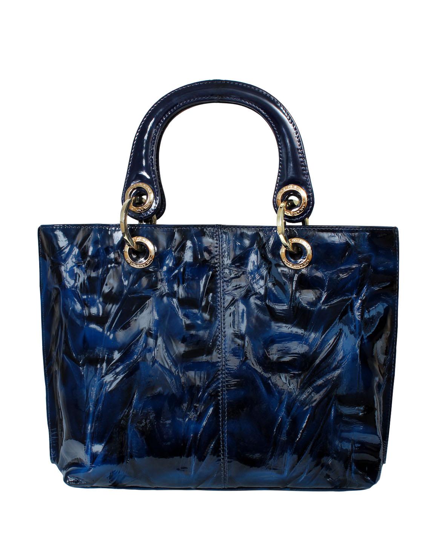 Cartera Satchel DS-2226 Color Azul