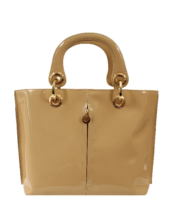 Cartera Satchel DS-2226 Color Beige