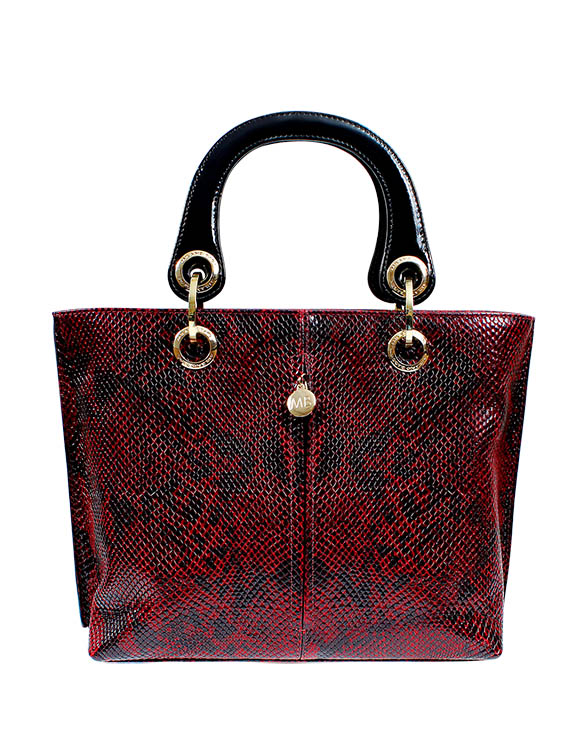 Cartera Satchel DS-2226 Color Rojo