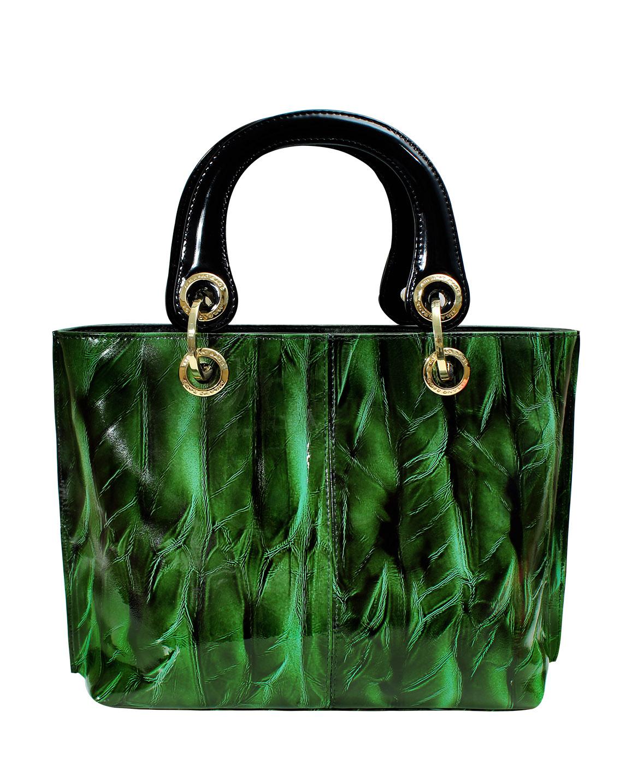 Cartera Satchel DS-2226 Color Verde