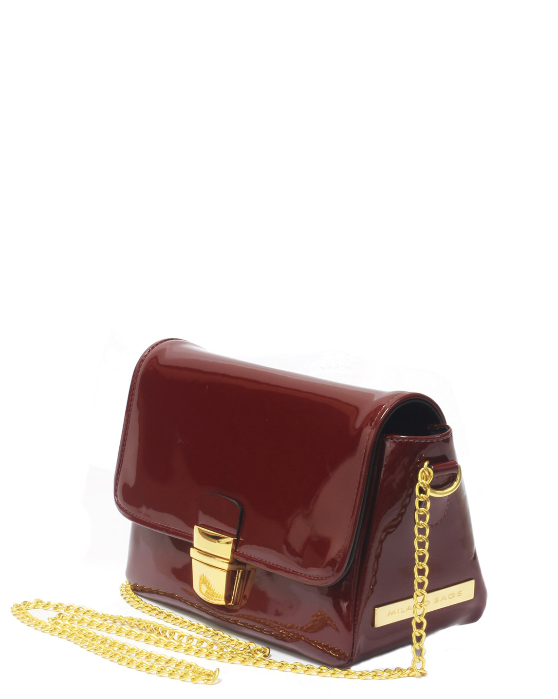 Cartera Satchel DS-2300 Color Rojo
