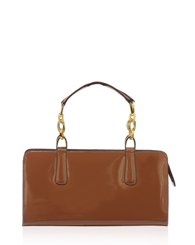 Cartera Satchel DS-2337 Color Natural