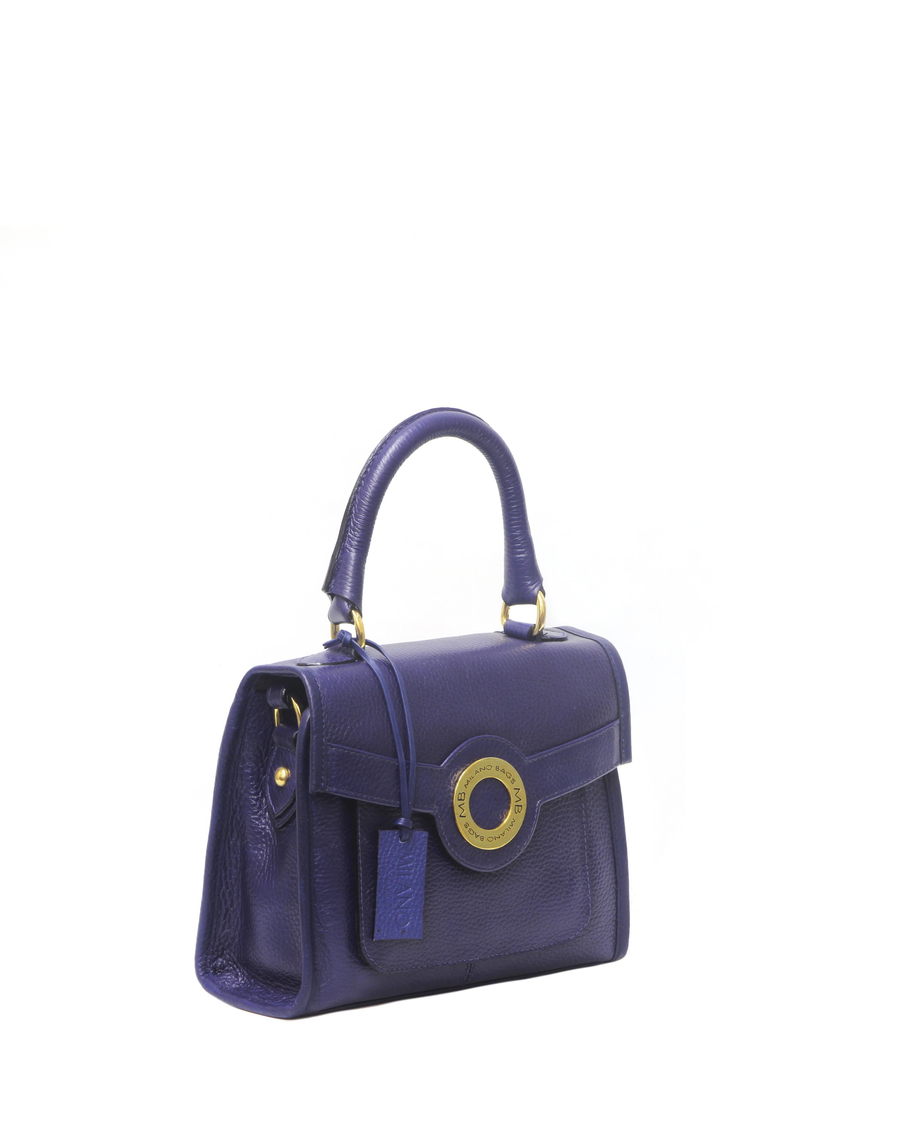 Cartera Satchel DS-2375 Color Azul