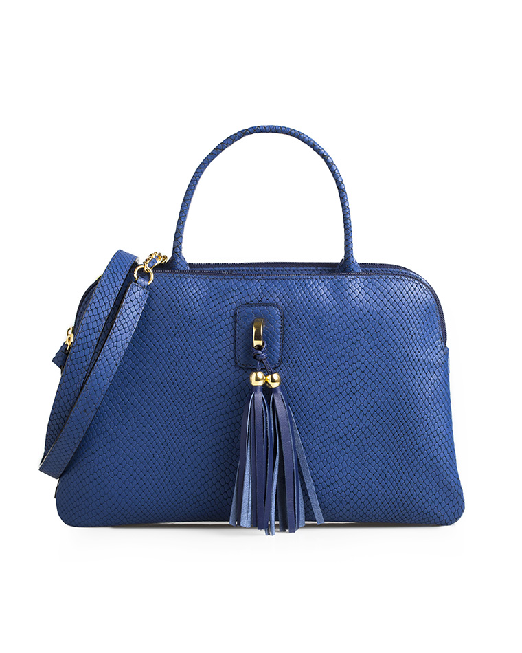 Cartera Satchel DS-2430 Color Azul